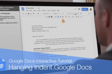 Hanging Indent Google Docs : How To Do A Hanging Indent On Google Docs?